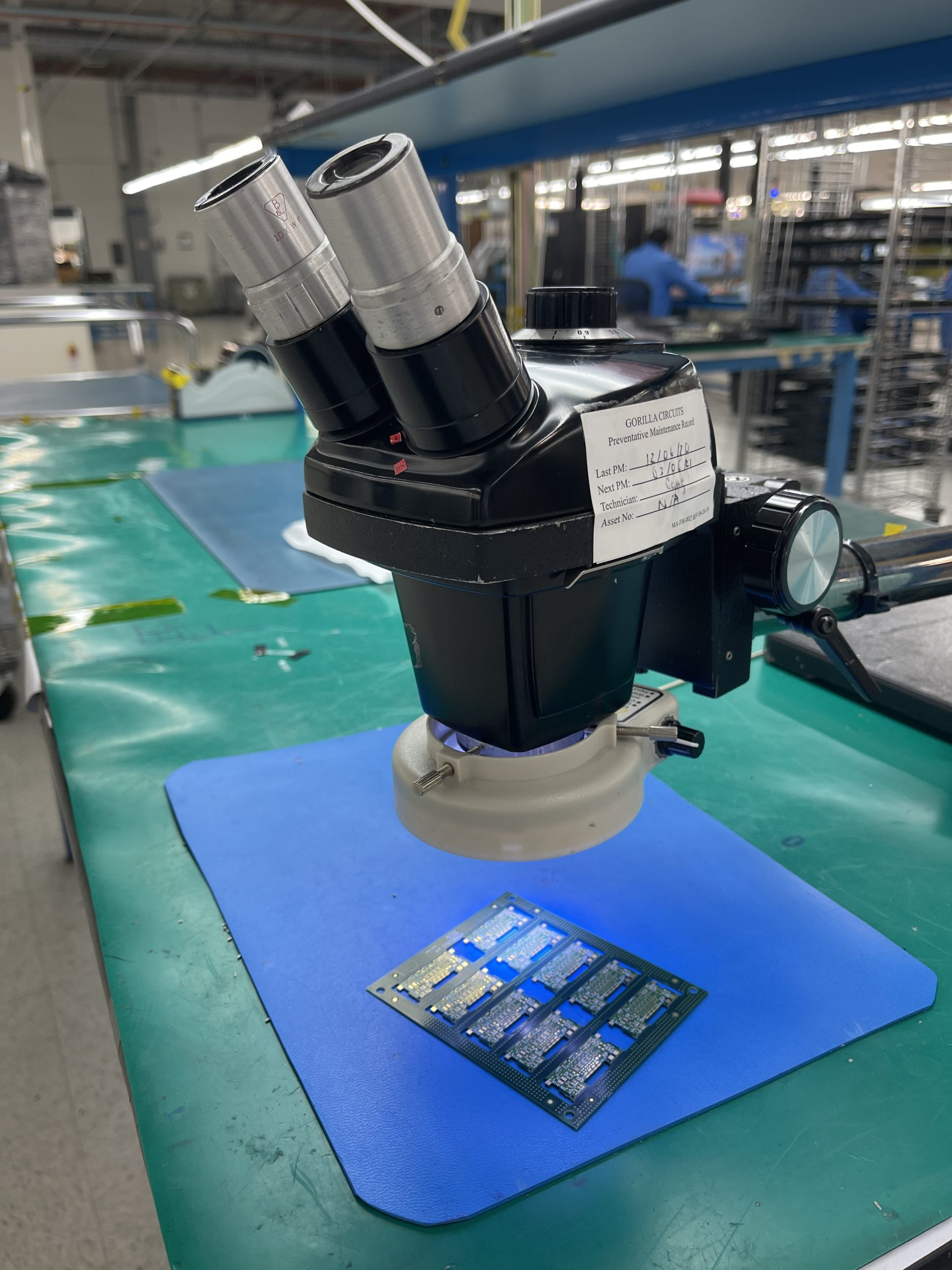 PCB Assembly Microscope