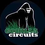 Gorilla Circuits logo in a circle.